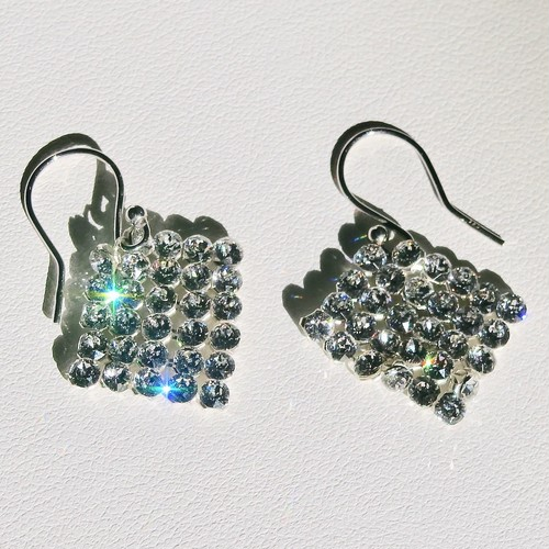 SQUARE  EARRINGS  XS
