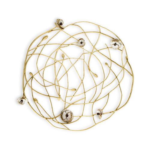 Michael Aram Anemone Centerpiece Bowl(マイケルアラム アネモネセンターピースボール) / 175048