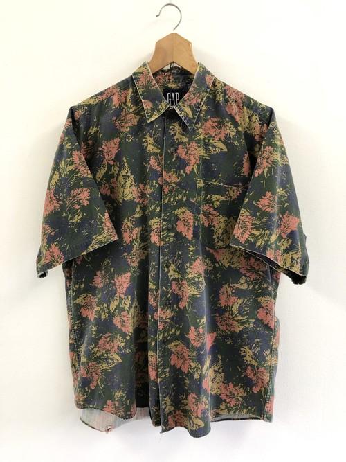 OLD GAP Leaf Pattern Shirt
