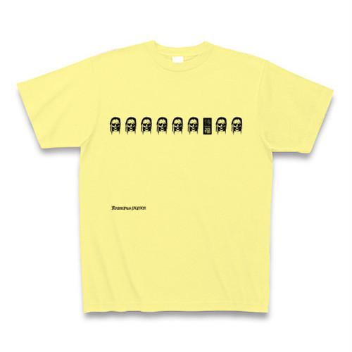 クランプスTシャツ【BASE-7】ライトイエロー