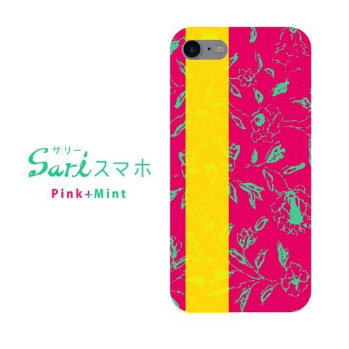 サリースマホ(pink mint)