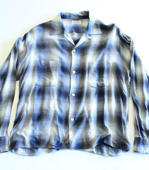 Vintage Pennys ombré check shirts