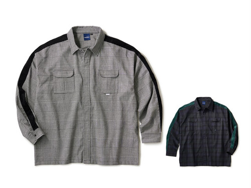 INTERBREED|Side Lined Plaid Shirts