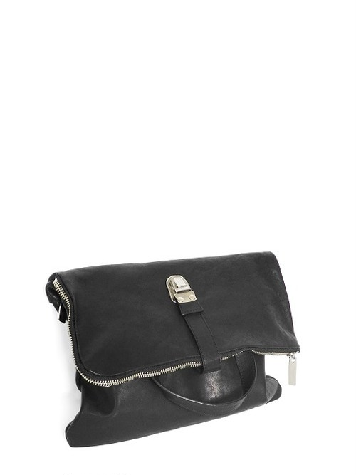 Leather shoulder bag 'cartable' ショルダーバッグ 174ABG02