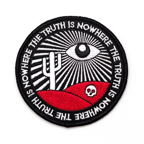 """Pretty Bad Co""""The Truth Is Nowhere Patch. All Seeing Eye Patch."""""""