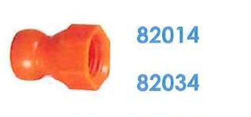 """82014 汎用クーラントホース1/4"""" 7/16"""" メンUNFコネクター"""