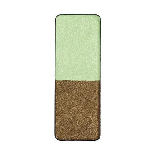 ツインカラー 1401:アイシャドウ:シャイニ−グリーン/エキゾチックグリ−ン(パール)