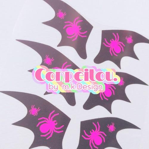 悪魔の羽♡ピンクスパイダー