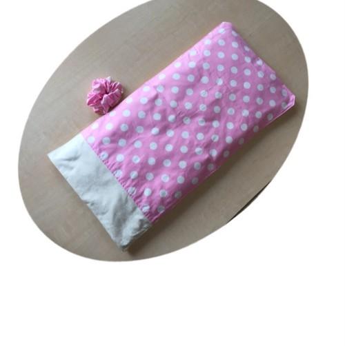 【出産祝いCoLoシート】025D  ピンク地 水玉