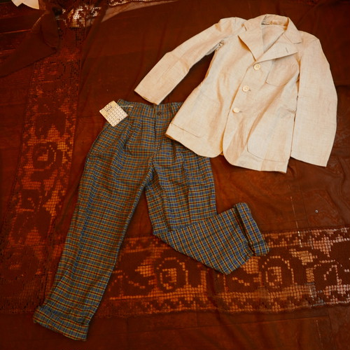 French 60~70's Kids Jacket&Pants