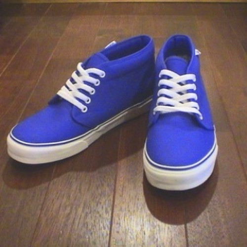 VANS/ヴァンズ | CHUKKA BOOT - ROYAL BLUE -