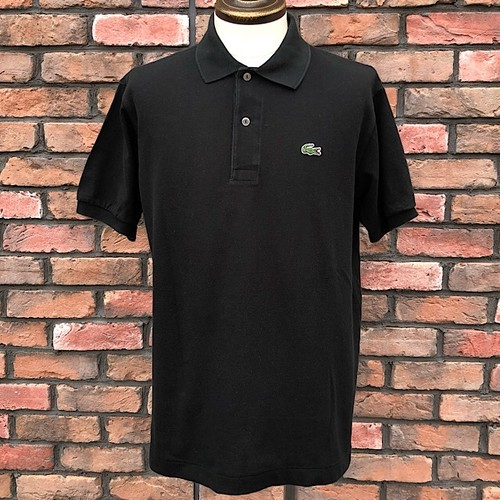 1990s Lacoste Polo Shirt Black 5