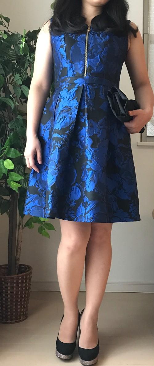 小柄女性向けふんわりスカート フェミニンワンピース