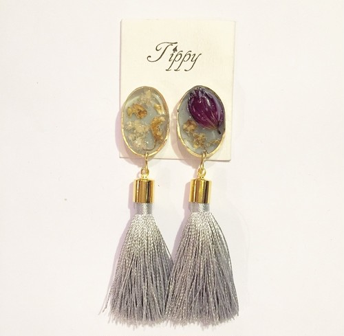 tassel pierce / earring