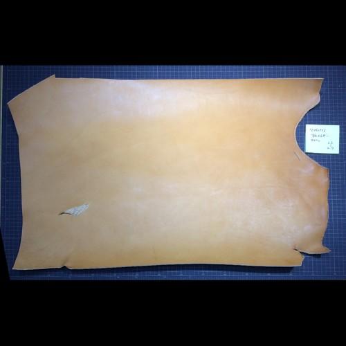 栃木レザーの端切れ キャメル2.5-2.7㎜厚(81062513)
