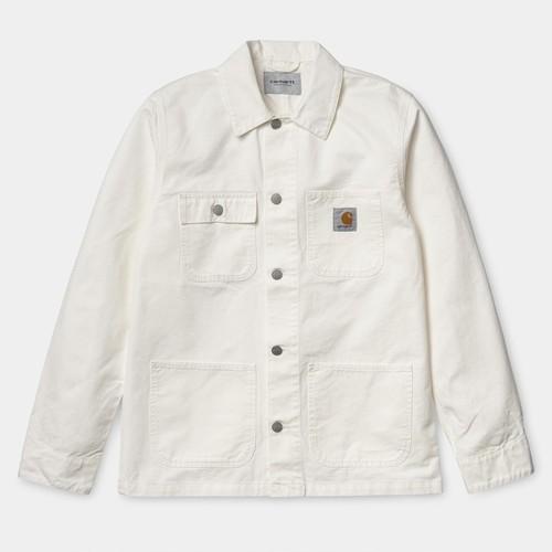 【Carhartt WIP】 MICHIGAN COAT (off-White) カーハート ミシガンコート カバーオール