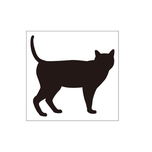 ステッカー 猫1