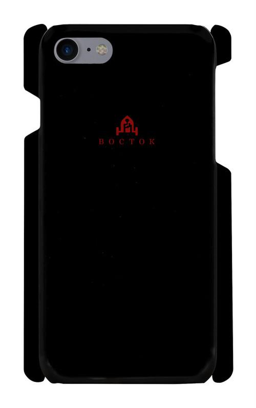 востокロゴ入りスマホケース【iPhone7/8】【黒】