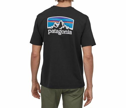パタゴニア PATAGONIA Tシャツ 半袖 メンズ フィッツロイ ホライゾンズ レスポンシビリティー 38501 Black【正規取扱店】