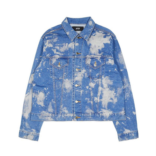 D.TT.K REFLECTOR PAINTED DENIM JACKET