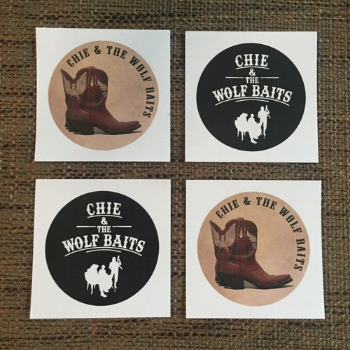 WOLF BAITS STICKER