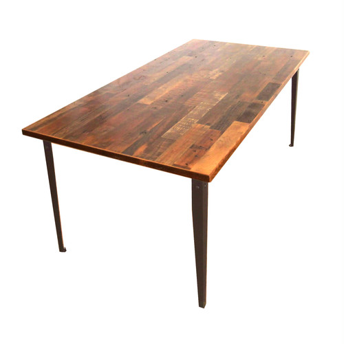 "受注生産品 Reclaimed Table ""Plain"" 900 x 1800 w/ simple top"