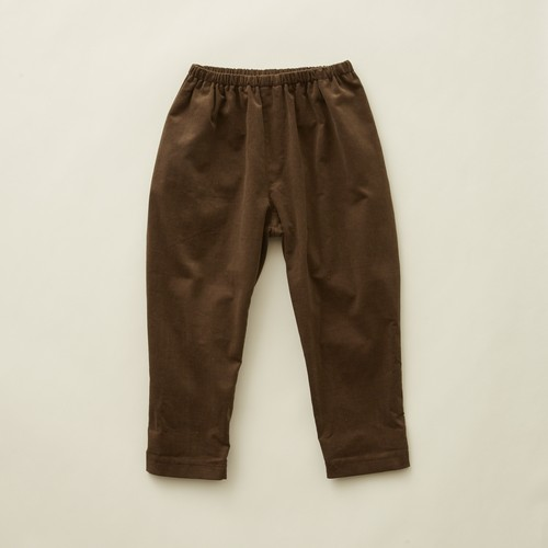 《eLfinFolk 2020AW》corduroy  pants / brown / 80-100cm