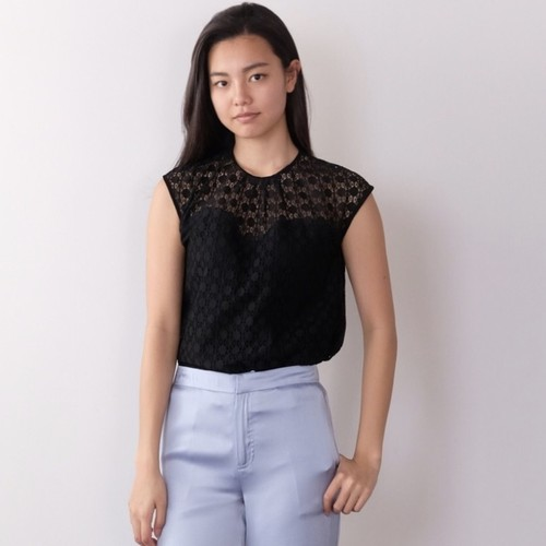 Lace Tops / BLACK