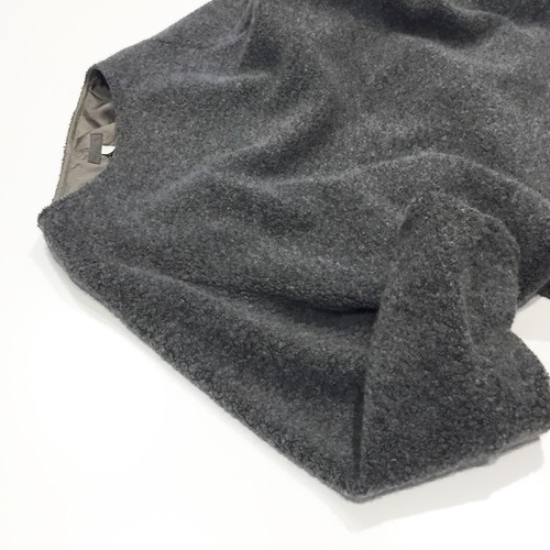 FIRMUM 【フィルマム】 WOOL PILE KNIT knit & sewn