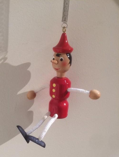 ピノキオ飾り物