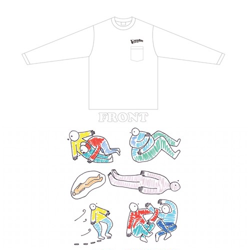 SOLD OUT!!!「5Kyoku」ロンT(アイロンシート付き)