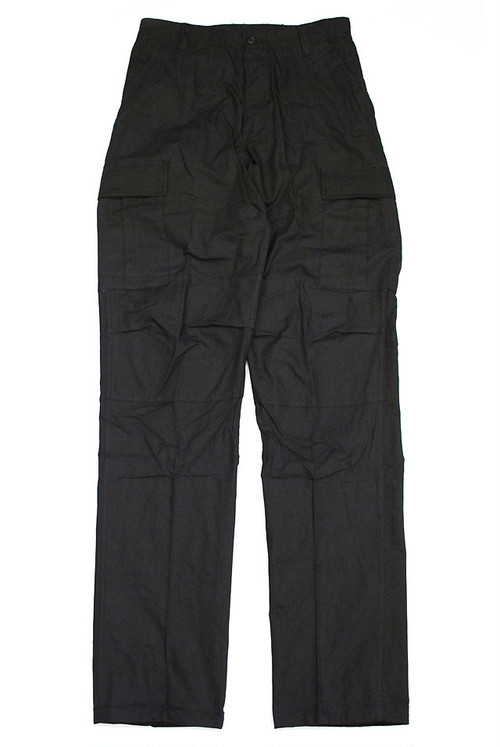 ROTHCO ULTRA FORCE 6 POCKET CARGO PANTS BLACK