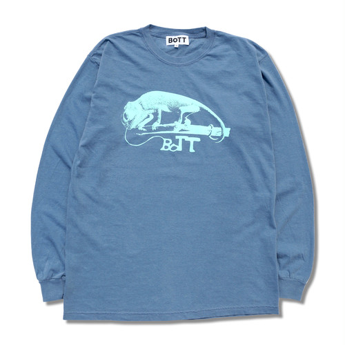 Zelig Long Sleeve Tee(indigo blue)