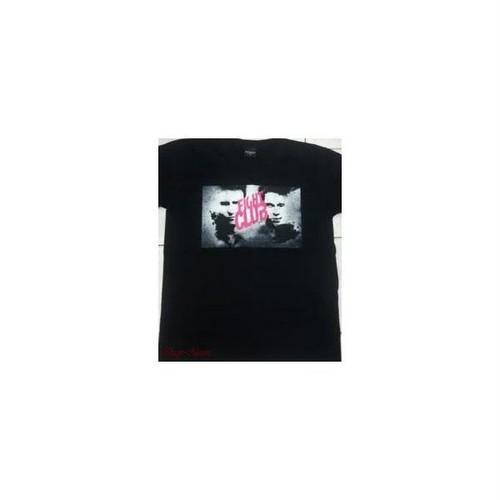 ファイト・クラブ Fight Club エドワード・ノートン×ブラッド・ピット プリントTシャツ