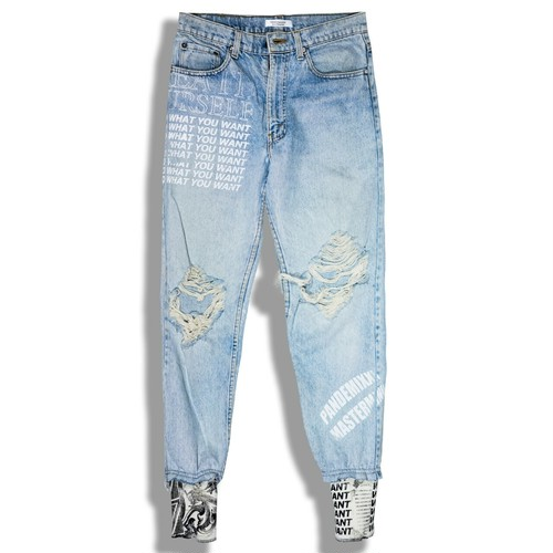 Remake Denim Pants