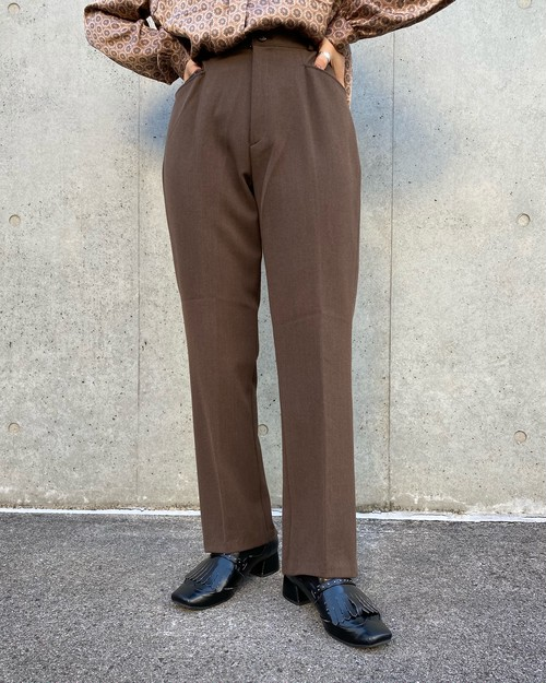 (PAL) center press pants