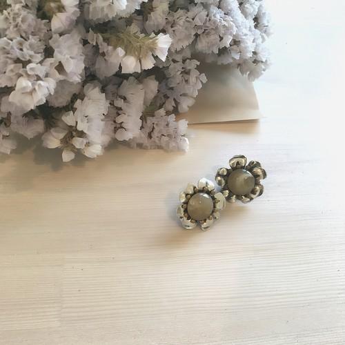 一点再販なし【Vintage accessory】mini silverflower