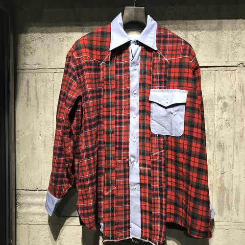 【SEVESKIG】VINTAGE UPCYCLE SHIRT