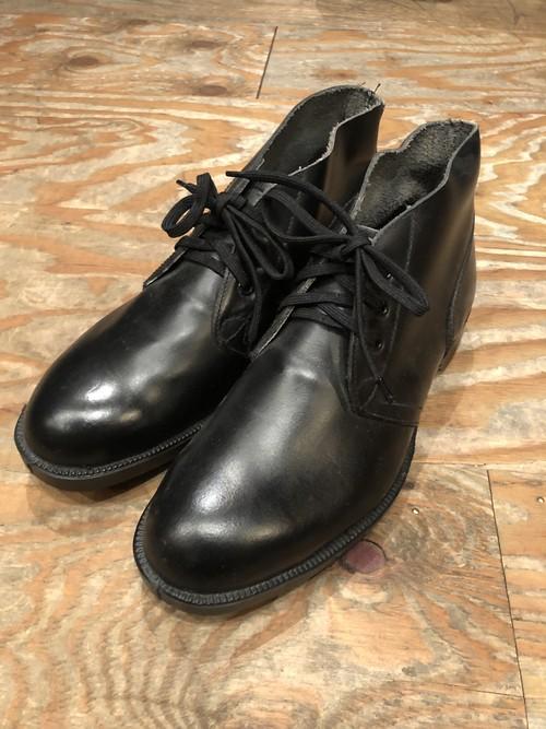 1970s-80s British Royal Navy leather shoes size UK6