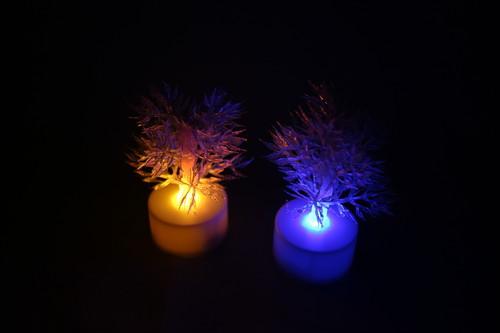Healing lamp 小さなイルミネーションツリー