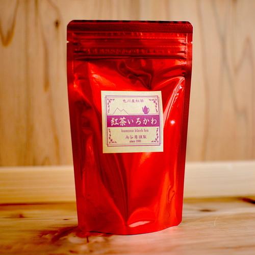 日本茶葉で作る いろかわ紅茶(50g)