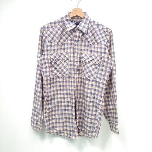 【Levi's】ウエスタンシャツ 70年代 青タグ