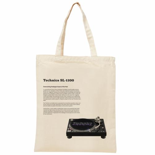 Technics SL-1200 ライトキャンバスバッグ(L)