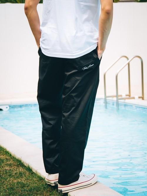 【4/7(WED)21:00 販売開始】ThreeArrows刺繍Easy pants (black)
