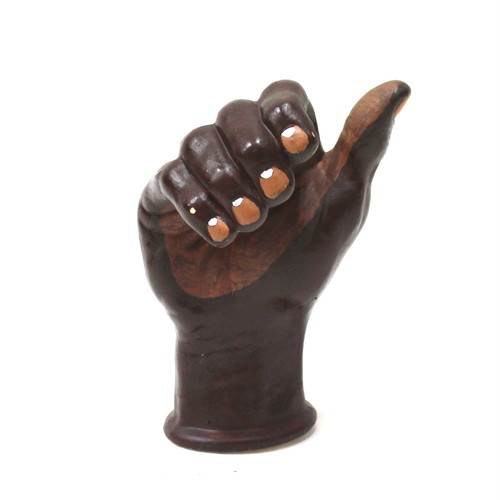 OLD HAND OBJECT ''BLACK''