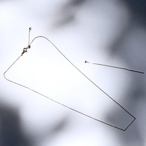 Stick Necklace/K10 GOLD
