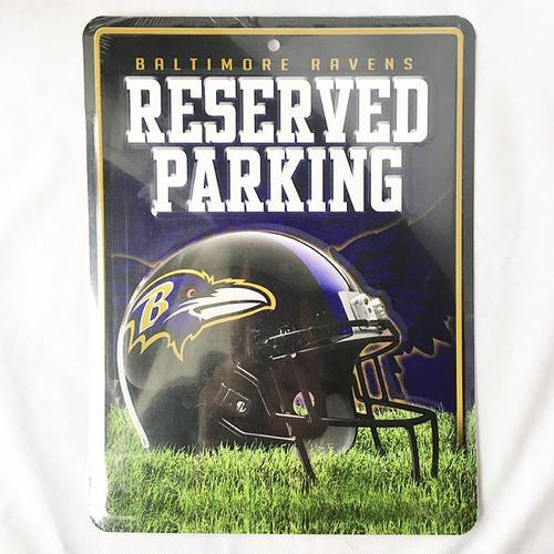 ボルチモア レイブンズ Baltimore Ravens パーキングプレート パーキングボード NFL メジャーリーグ RICO 2848
