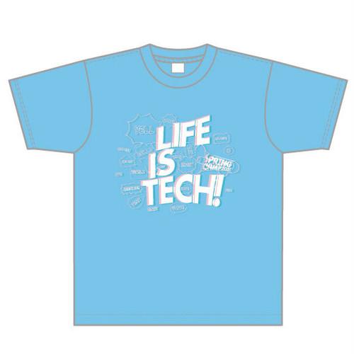 SPRING CAMP 2021 Tシャツ - アクアブルー