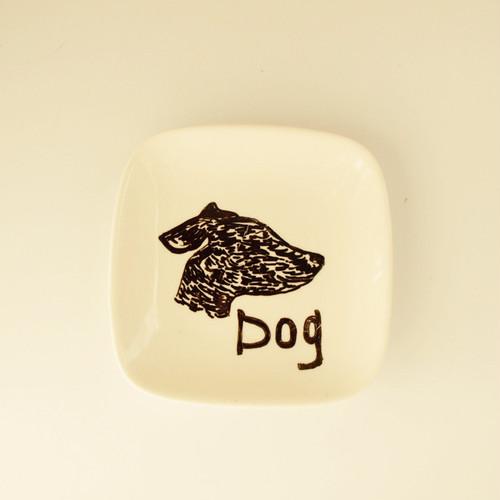 スクエアプレート DOG