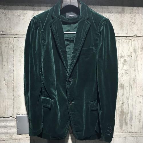 【08sircus】Velveteen Vintage dyed jacket